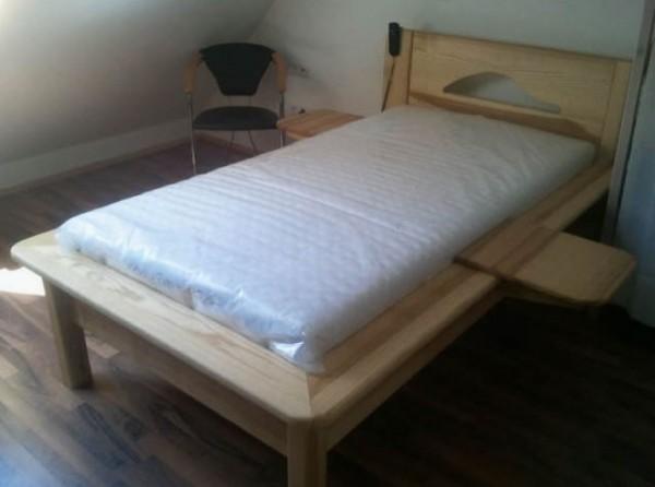 91325 Bett Kernesche mit Relax Naturlatexmatratze